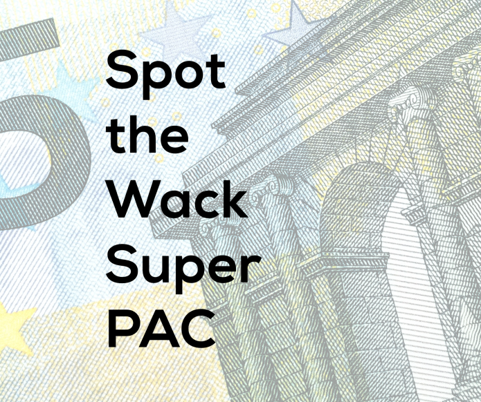 Spot the Wack Super PAC