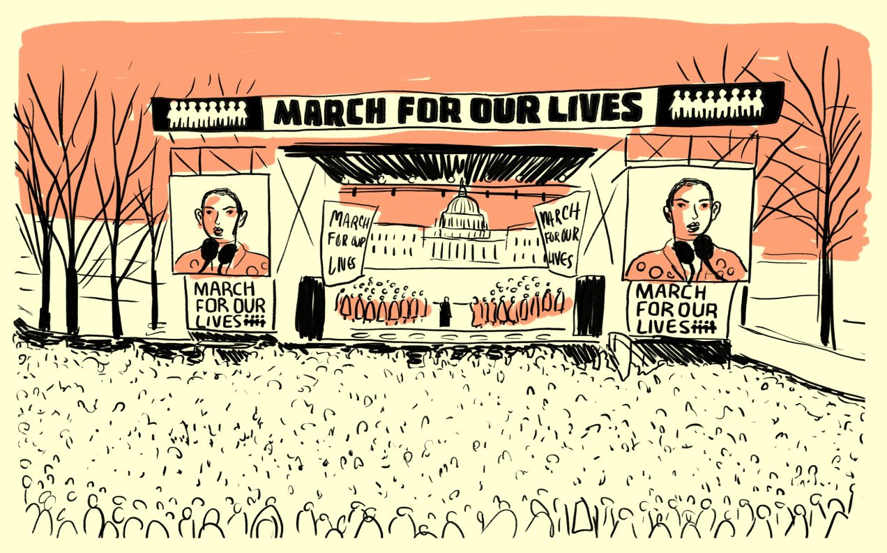 march for our lives illustration